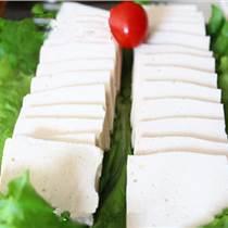 传统豆腐坊生产千页豆腐鱼豆腐