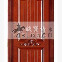 特殊門扇結構湖北裝板實木門供應批發