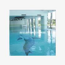 供應游泳池溫泉度假酒店工程-游泳池馬賽克拼圖