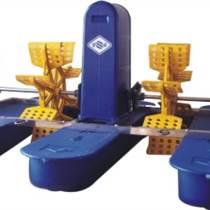 水车式增氧机鱼塘增氧泵4组叶轮养鱼泵