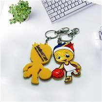 代工卡通软胶钥匙扣厂家