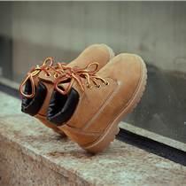 童鞋秋冬款新品兒童復古真皮馬丁靴女童中幫靴子