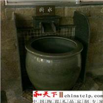 溫泉養生泡澡缸韓式洗浴澡缸陶瓷浴缸高檔會所溫泉澡大缸景德鎮廠