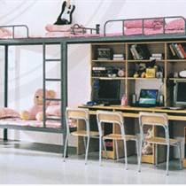 学生公寓员工美术宿舍双人隐私密四周封板闭双层铁架床上