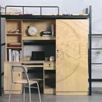 钢制公寓学校学生员工宿舍成人高低双层铁架床上下铺铁床