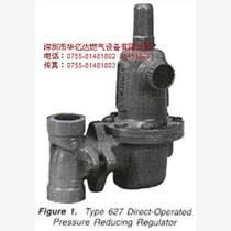 美国FISHER496 627-576 燃气调压器 调压阀 减压阀