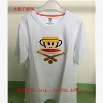 厂家批发大嘴猴T恤女圆领韩版短袖纯棉女夏季上衣