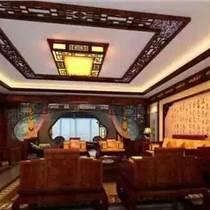 聚龍御寶古建裝修,庭院仿古古典裝飾,中式家居裝潢設計