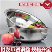 特价批发斗牛氏28-40cm不锈铁盆家用大钢盆不锈钢洗头盆洗脸盆