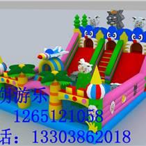 潍坊充气城堡充气滑梯儿童