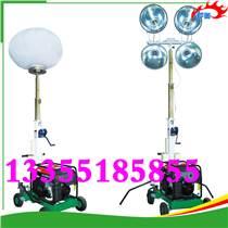 安全穩定的工程照明車,可以手動升降,升降靈活的工程照明車