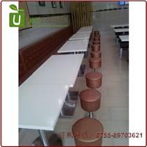 中高檔快餐廳桌椅訂做批發,快餐館桌椅供應商