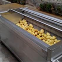 供應韭菜全自動噴淋清洗機  果蔬氣泡清洗設備