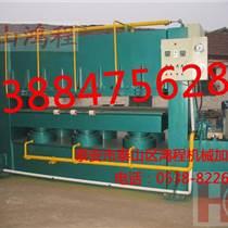 鴻程 600T型木板生產設備 液壓PVC貼面熱壓設備
