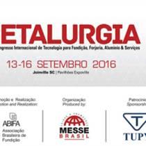 2016年巴西國際冶金鑄造鋼鐵及金屬展|優勢展位預訂|商務考察