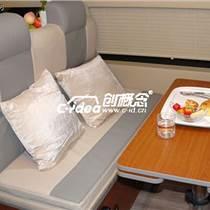 珠海丰田考斯特房车内饰装潢、餐桌座椅改装