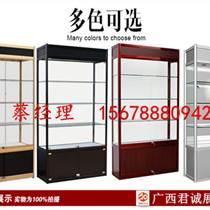 厂家批发广西展示柜 精品货架钛合金展柜酒柜