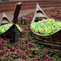 崔氏水城观光旅游贡多拉船手工实木小船