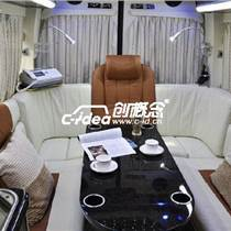 河北唐山奔驰商务车内饰翻新装潢、航空座椅改装、加装影音系统
