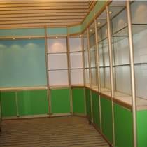 廣西君誠玻璃展示柜 鈦合金展柜 精品貨架 廠家定做質量保證