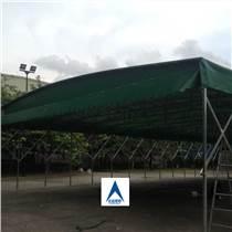 帆布棚 帆布雨蓬 伸縮帆布帳篷廠家加工直銷