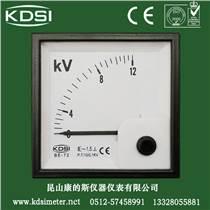 横河电压测量仪表 同款 电力柜顶低压箱用表BE-72 AC12KV特价供应