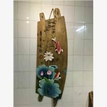 重庆风化木木板画老船木板画定制零售-重庆太上渝礼堂
