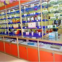 鈦合金玻璃樣品產品展示柜貨架展柜飾品展示架珠寶柜臺陳列柜子