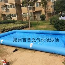 湖北武漢100平大型充氣水池價格
