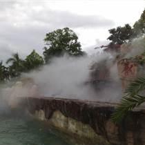 环境美化喷雾景观降温设备