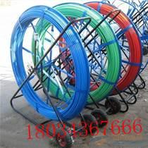 帶滾輪頭電工穿線器 電線網線穿管器 光纖線槽引線器