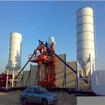小型攪拌站工程站HZS35混凝土攪拌站