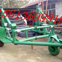 霸州德遠 大量批發機械式電纜拖車 專業制造