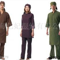 億妃日本料理服定做,日式工作服圖片,和服,服務員套裝四件套,億妃服飾