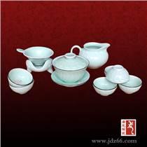 陶瓷功夫茶具套装,青花瓷茶具带茶盘,陶瓷茶具定做价格