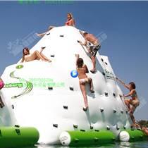 充氣移動水上樂園 設備水上嘉年華世界充氣水上 冰山攀巖玩具滑梯