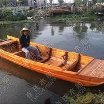 供应崔氏手工双蓬船景区手划小船