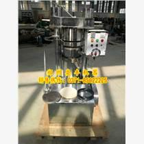 韓式液壓榨油機性能丨液壓榨油機型號