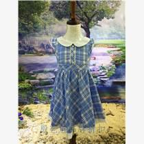 騎牛娃童裝品牌工廠尾貨女童連衣裙