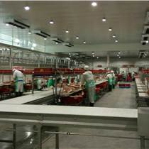 华誉HY-SSX型猪牛羊肉加工分割输送线