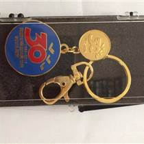 济南专业金属钥匙扣制作、合金礼品钥匙扣订做、LOGO钥匙扣厂家