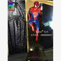 影視人物雕塑銷售哪家好 選擇剛站尚雕坊蜘蛛俠影視廣告雕塑