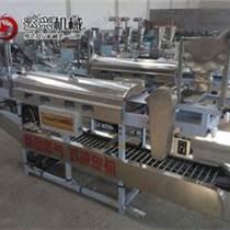 新型全自動涼皮機 多功能食品機械涼皮機 蒸汽式涼皮機低投入高收
