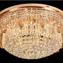 現代簡約led吊燈水晶燈圓球燈創意臥室燈燈具燈飾