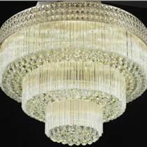 圓形水晶燈吸頂燈飾臥室大廳大氣歐式現代燈