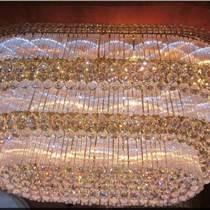 led吸頂燈水晶燈客廳燈現代簡約吊燈大氣燈具燈飾