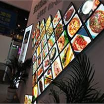 連鎖餐飲店超薄形象燈箱