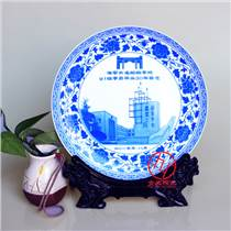 廣告宣傳瓷盤定做 瓷盤加公司logo