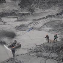 天津南疆港區工業生化池清底