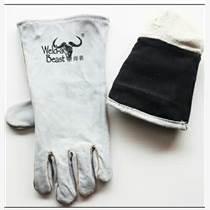焊獸電焊手套 全皮 焊工手套